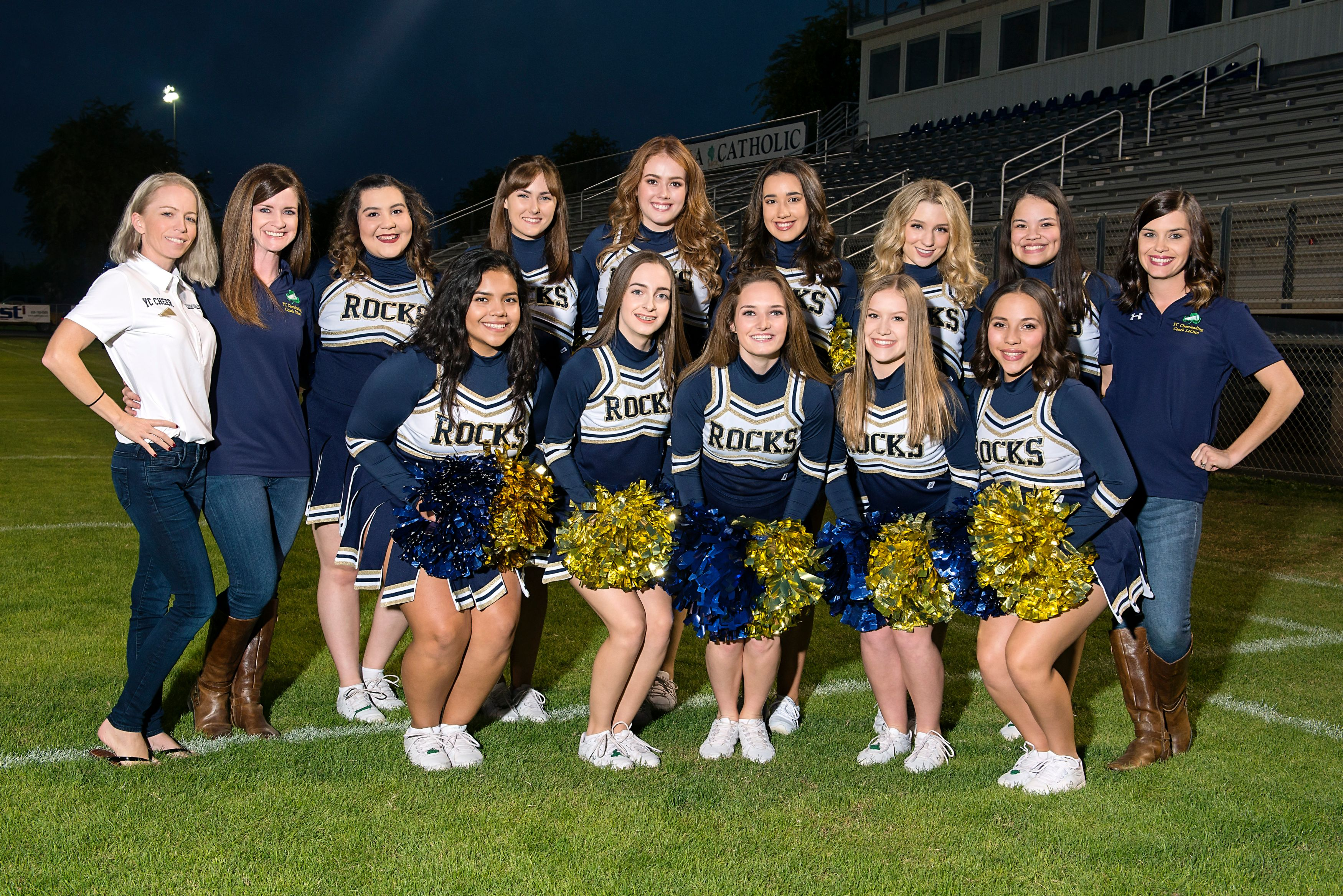 cheerleading yuma catholic high school